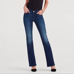 7 For All Mankind Lexie Petite Bootcut Jeans 29P
